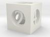 Hollow D6 3d printed