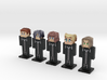 Organization XIII- CoM 5-pack (Weaponless) 3d printed