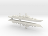Type 052 Destroyer x 2, 1/3000 3d printed