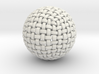 Knitted Sphere 3d printed