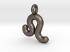 Leo Symbol Keychain 3d printed