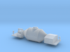 Torpedo Hot Metal Car - Nscale 3d printed