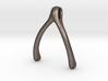 Ring Holder Pendant: Wishbone 3d printed