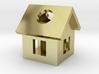 Tiny House Pendant 3d printed