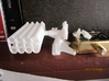 1/20 5 inch Rocket Launcher right side stowed  3d printed 1/20 and 1/72 scale