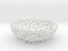 Fruit bowl (34 cm) - Voronoi-Style #1 3d printed