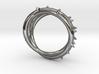 Rose Thorn Ring - Sz.9 3d printed