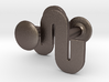Unfinity cufflinks 3d printed