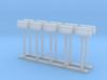 Mail Box - Rural (10) N 160:1 Scale 3d printed