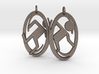Portal Earrings 3d printed