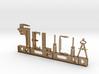 Felicia Nametag 3d printed