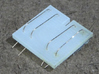 SP Rotary Snow Plow in N Scale 3d printed This is an early version of the hand rail jig