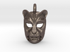 Leopard kabuki-style Small Pendant 3d printed