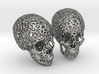 Human Skull Voronoi Style 3d printed