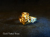 NOLA Claddagh, Ring Size 7 3d printed