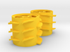 Grass Silage Spreader - Rotor 1/32 3d printed