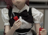 BJD Cutlery Set 3d printed 60 cm dollfie dream having a snack with the utensils