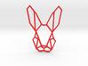 Mr. Rabbit Wall Decoration 3d printed