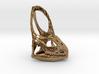 Veiled Chameleon  Skull Pendant 3d printed