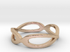 """""""Zelda"""" Double Infinity Ring Size 6 Ring Size 6 3d printed"""