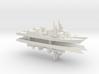Murasame-class destroyer x 4, 1/2400 3d printed