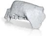 TM1517 (Paranthropus Robustus): Jaw 3d printed