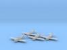 Republic P-47 'Thunderbolt' Razorback 1:200 x4 FUD 3d printed