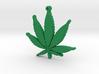 weed leaf up 3d printed