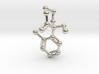 Ketamine Molecule Keychain Necklace 3d printed