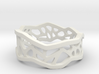 Web Ring_size 8 3d printed