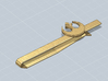 TIE CLIP REBEL ALLIANCE 3d printed Tie clip Rebel Alliance render