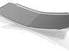 Mack Superliner Style Windshield 3d printed