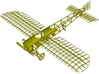 1/15 scale Bleriot XI-2 WWI model kit #2 of 4 3d printed