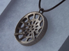 "Low Tenor ""Void"" steeplan pendant 3d printed"