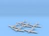 Supermarine Spiteful 1:285 x6 FUD 3d printed