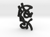 Creator Rune Pendant 3d printed