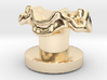 Anatomical Cervical Vertebra 4 Tuxedo Shirt Stud 3d printed