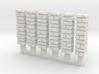NvML25 Traditional walls kit 3d printed