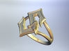 Sabaton Ring (female) 3d printed this is a rendering. real photos coming soon!