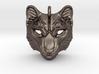 Snow Leopard Small Pendant 3d printed