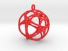Hexagon Pendant 3d printed