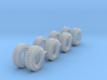 68in X 34in Tractor Tires Z Scale 3d printed 8 68in tires z scale