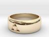 legend of zelda  triforce ring 3d printed
