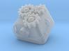 Topre Steampunk Keycap 3d printed
