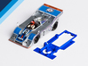 1/32 Fly Porsche 917/10 Chassis for Slot.it pod 3d printed Chassis compatible with Fly Porsche 917/10 body (not included)