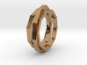 faceted ring 3d printed
