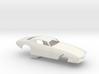 1/16 Pro Mod 73 Camaro Flat Hood 3d printed