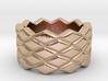Rhombus Ring 28 – Italian Size 28 3d printed