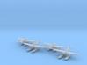 Aichi E16A1 Zuiun (Paul) 4 airplanes 1/500 3d printed