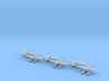 Aichi E16A1 Zuiun (Paul) 6 airplanes 1/600 3d printed